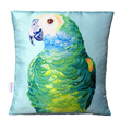 parrot portrait cushion