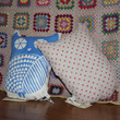 a little owl cushion called clive