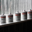 enamel storage jars