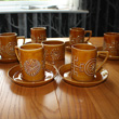 portmeirion 'Totem' coffee cup set